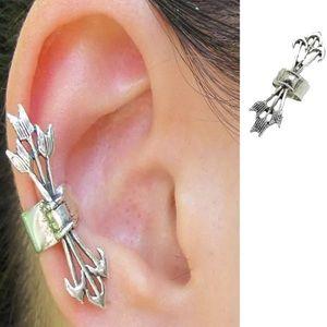 Jewelry - ARRIVED! Single Silver Arrows Cuff Earring
